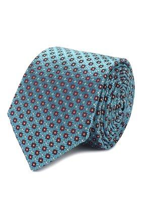 Мужской шелковый галстук ETON голубого цвета, арт. A000 32262 | Фото 1