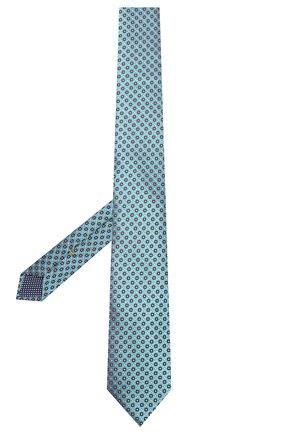 Мужской шелковый галстук ETON голубого цвета, арт. A000 32262 | Фото 2