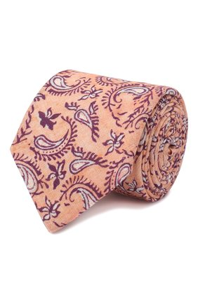 Мужской льняной галстук ETON розового цвета, арт. A000 32268 | Фото 1