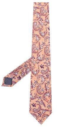 Мужской льняной галстук ETON розового цвета, арт. A000 32268 | Фото 2