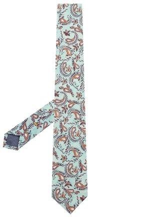Мужской льняной галстук ETON голубого цвета, арт. A000 32268 | Фото 2