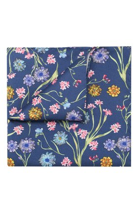 Мужской шелковый платок ETON синего цвета, арт. A000 32308 | Фото 1