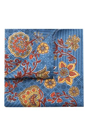 Мужской шелковый платок ETON синего цвета, арт. A000 32361 | Фото 1