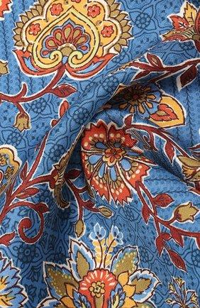 Мужской шелковый платок ETON синего цвета, арт. A000 32361 | Фото 2