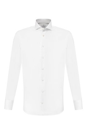 Мужская хлопковая сорочка VAN LAACK белого цвета, арт. RES0-SFN/150018 | Фото 1