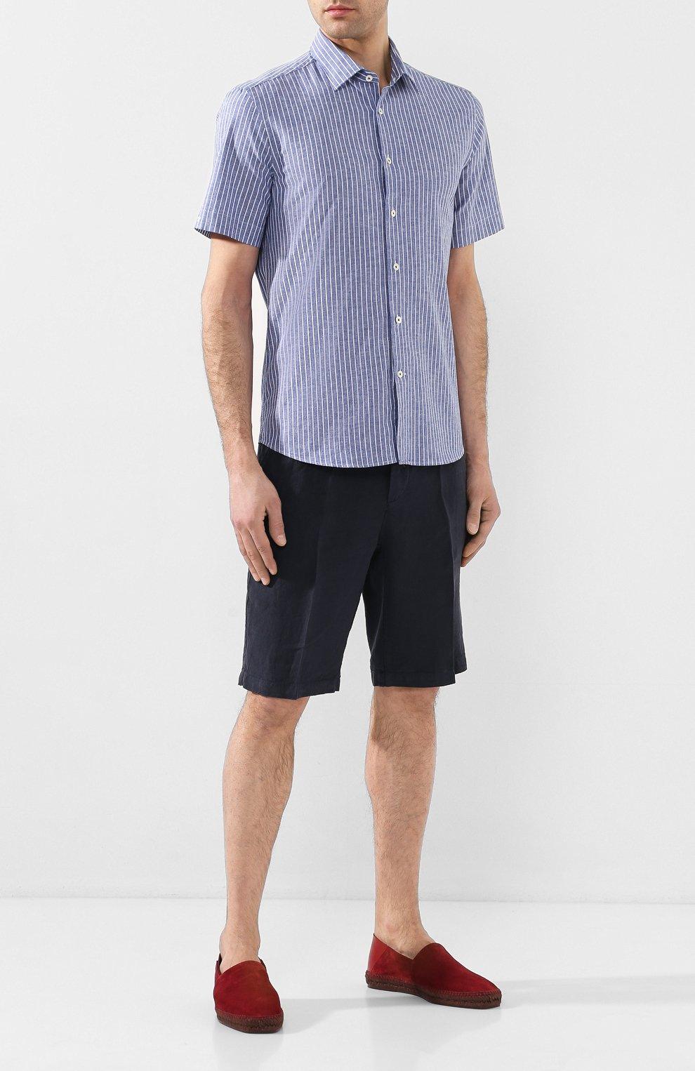 Льняные шорты   Фото №2