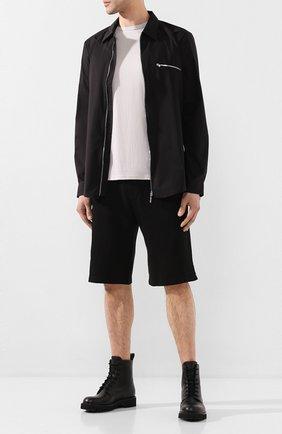 Мужская хлопковая футболка COTTON CITIZEN светло-серого цвета, арт. M60011 | Фото 2