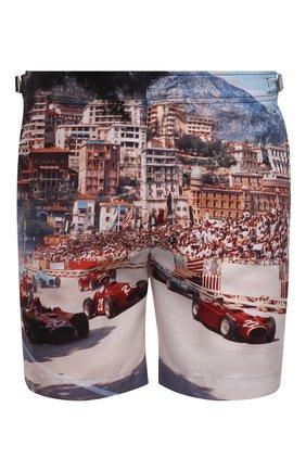 Мужские плавки-шорты ORLEBAR BROWN разноцветного цвета, арт. 271281 | Фото 1 (Материал внешний: Синтетический материал; Кросс-КТ: Пляж)