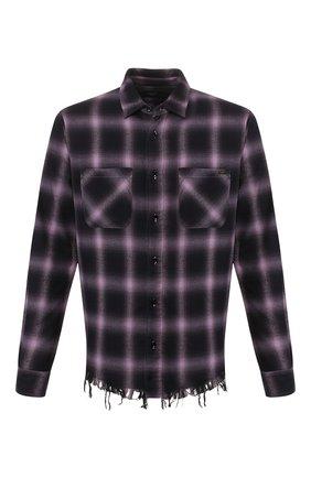 Рубашка из смеси хлопка и вискозы   Фото №1