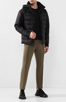 Мужская пуховая куртка hybridge base CANADA GOOSE черного цвета, арт. 2729M | Фото 2
