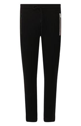 Мужской хлопковые брюки MONCLER черного цвета, арт. F1-091-8H705-00-V8130 | Фото 1