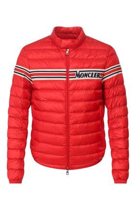 Мужская пуховая куртка renald MONCLER красного цвета, арт. F1-091-1A104-00-53279 | Фото 1