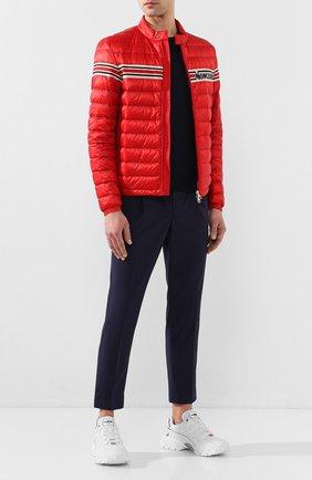 Мужская пуховая куртка renald MONCLER красного цвета, арт. F1-091-1A104-00-53279 | Фото 2
