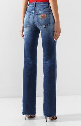 Женские джинсы DSQUARED2 синего цвета, арт. S75LB0314/S30663 | Фото 4