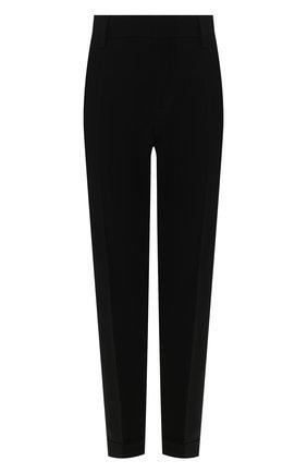 Женские брюки из вискозы DSQUARED2 черного цвета, арт. S75KB0099/S48427 | Фото 1
