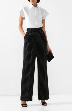 Женские шерстяные брюки DOLCE & GABBANA серого цвета, арт. FTBQ5T/FR2XI | Фото 2