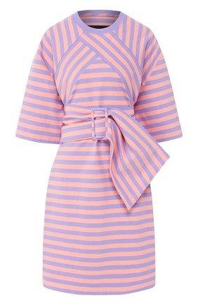 Женское хлопковое платье MARC JACOBS (THE) сиреневого цвета, арт. C5000002 | Фото 1
