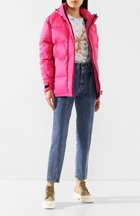 Женский пуховая куртка approach CANADA GOOSE розового цвета, арт. 2078L | Фото 2