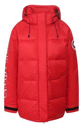 Женский пуховая куртка approach CANADA GOOSE красного цвета, арт. 2078L | Фото 1
