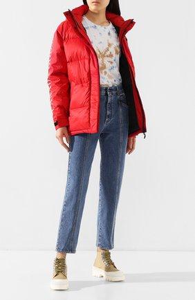 Женский пуховая куртка approach CANADA GOOSE красного цвета, арт. 2078L | Фото 2