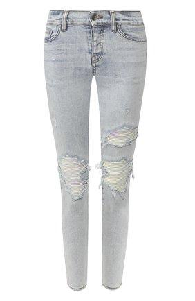 Женские джинсы AMIRI голубого цвета, арт. Y0W01411SD | Фото 1