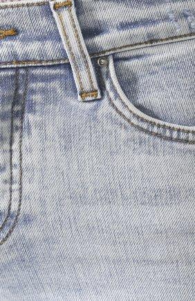 Женские джинсы AMIRI голубого цвета, арт. Y0W01411SD   Фото 5