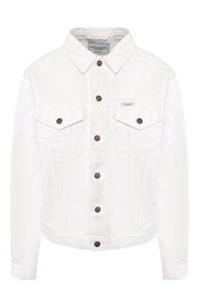 Женская джинсовая куртка FORTE DEI MARMI COUTURE белого цвета, арт. 20SF5363-TSUM | Фото 1