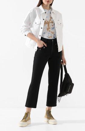 Женская джинсовая куртка FORTE DEI MARMI COUTURE белого цвета, арт. 20SF5363-TSUM | Фото 2