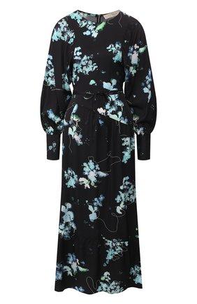 Женское платье из вискозы TELA темно-синего цвета, арт. 01 5831 01 9980 | Фото 1