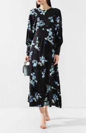 Женское платье из вискозы TELA темно-синего цвета, арт. 01 5831 01 9980 | Фото 2