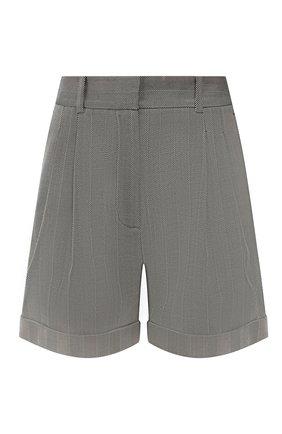 Женские шерстяные шорты RACIL серого цвета, арт. RS10-P9-W-MAX   Фото 1
