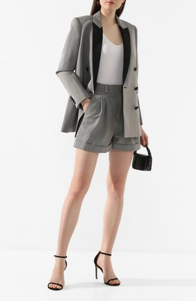 Женские шерстяные шорты RACIL серого цвета, арт. RS10-P9-W-MAX   Фото 2