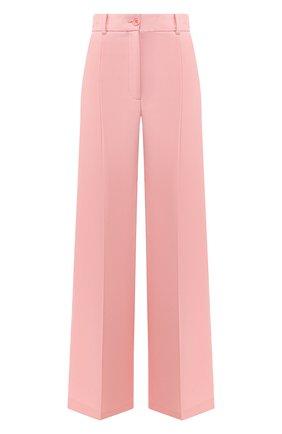 Женские шерстяные брюки RACIL розового цвета, арт. RS10-P8-W-PETER   Фото 1