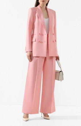 Женский шерстяной жакет RACIL розового цвета, арт. RS10-J3-W-ARCHIE   Фото 2