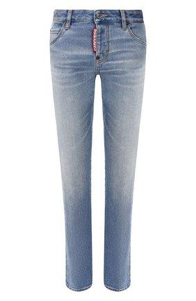 Женские джинсы DSQUARED2 синего цвета, арт. S75LB0324/S30662 | Фото 1