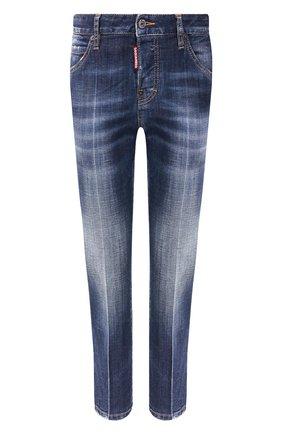 Женские джинсы DSQUARED2 синего цвета, арт. S72LB0296/S30342 | Фото 1