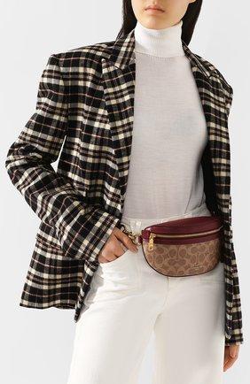 Женская поясная сумка fanny pack COACH красного цвета, арт. 39937 | Фото 2