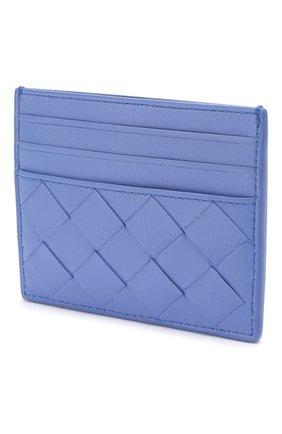 Женский кожаный футляр для кредитных карт BOTTEGA VENETA светло-голубого цвета, арт. 608078/VCPP3 | Фото 2