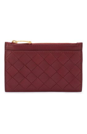 Женская кожаный футляр для ключей BOTTEGA VENETA бордового цвета, арт. 608784/VCPP3 | Фото 1