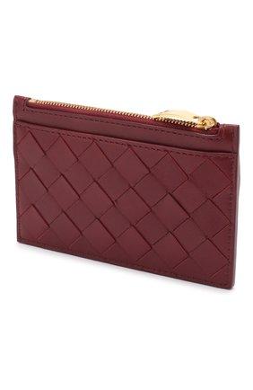 Женская кожаный футляр для ключей BOTTEGA VENETA бордового цвета, арт. 608784/VCPP3 | Фото 2