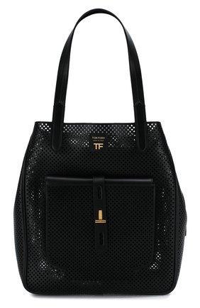 Женская сумка t twist TOM FORD черного цвета, арт. L1213T-ICL002   Фото 1