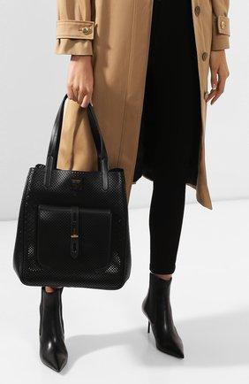 Женская сумка t twist TOM FORD черного цвета, арт. L1213T-ICL002   Фото 2