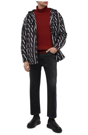 Мужские кожаные челси ALEXANDER MCQUEEN черного цвета, арт. 604234/WHXE1 | Фото 2