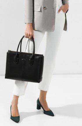 Женская сумка  d-styling TOD'S черного цвета, арт. XBWDBAA0300RII | Фото 2