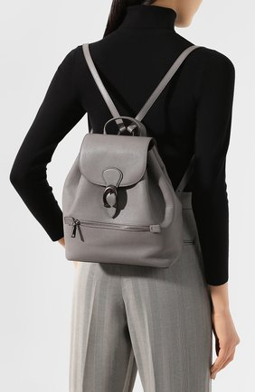 Женский рюкзак evie COACH серого цвета, арт. 68380 | Фото 2