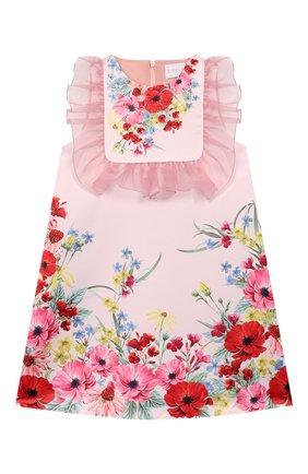 Детское платье EIRENE белого цвета, арт. 202050 | Фото 1