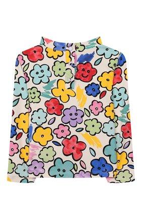 Детского пляжный комплект из лонгслива и плавок STELLA MCCARTNEY разноцветного цвета, арт. 588511/S0K08 | Фото 3