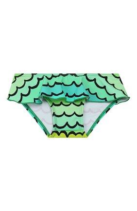 Детского пляжный комплект из лонгслива и плавок STELLA MCCARTNEY разноцветного цвета, арт. 588511/S0K11   Фото 4