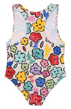 Детского слитный купальник STELLA MCCARTNEY разноцветного цвета, арт. 588518/S0K08 | Фото 2