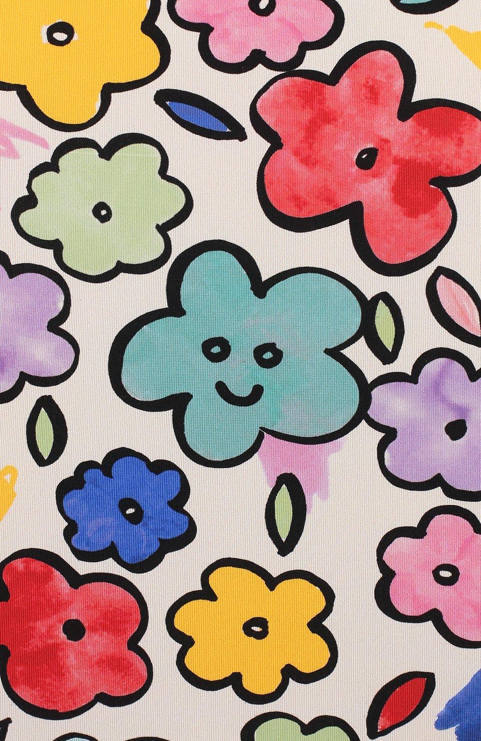 Детского слитный купальник STELLA MCCARTNEY разноцветного цвета, арт. 588518/S0K08 | Фото 3